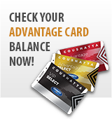 Advantage Card Balance