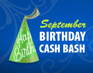 September Birthday Cash Bash