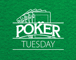 Poker Tuesday Night Texas Hold 'Em Bounty Tournament