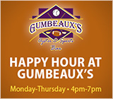 Happy Hour at Gumbeaux's