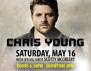 Chris Young with Special Guest Scotty McCreery