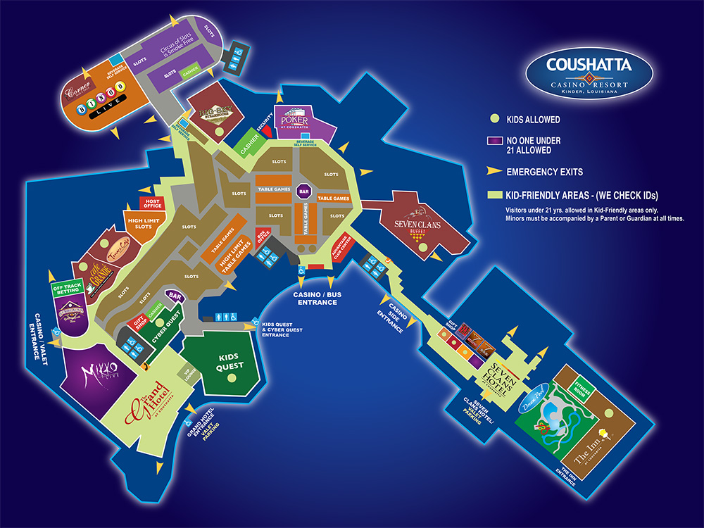 Maps Casino Sausset