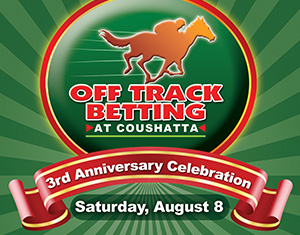 Off-Track Betting 3rd Anniversary Celebration