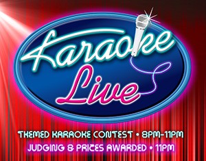 Karaoke Live! Themed Karaoke Wednesdays