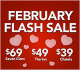 February Flash Sale