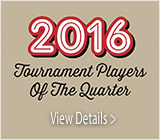 Tournament Players of the Quarter
