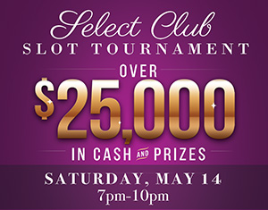 Select Club Slot Tournament