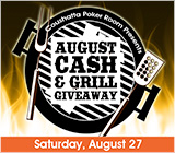 Poker Cash & Grill Giveaway