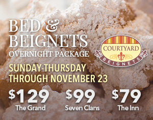 Bed & Beignets Overnight Package