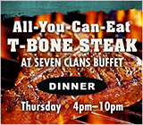 T-bone Steak Special