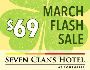 March Flash Sale at Seven Clans Hotel