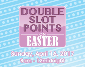Double Slot Points on Easter