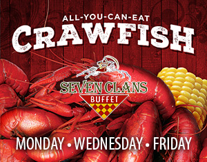 All-You-Can-Eat Crawfish at Seven Clans Buffet