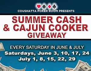 Poker Summer Cash & Cajun Cooker Giveaway