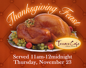 Thanksgiving Day at Terrace Cafe