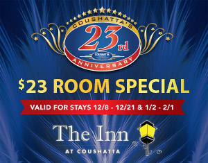 23rd Anniversary Room Special