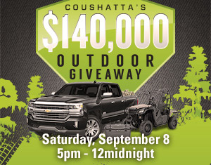 midwest outdoor resorts giveaway casino promotions coushatta casino resort 538