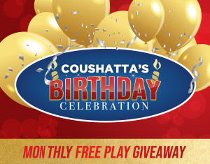 Coushatta's Birthday Celebration