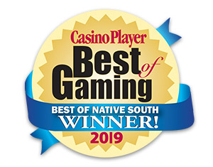 Coushatta Wins 26 Best of Gaming Awards!
