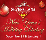 New Year's Holiday Dining