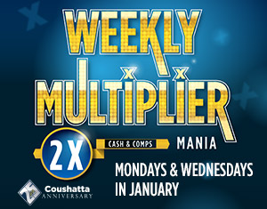 25th Anniversary Weekly Multiplier Mania
