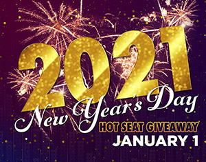 2021 New Year's Day Hot Seat Giveaway