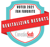 ConventionSouth Revitalizing Resorts of 2021 Winner