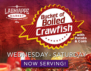 Crawfish Special at Lagniappe Market