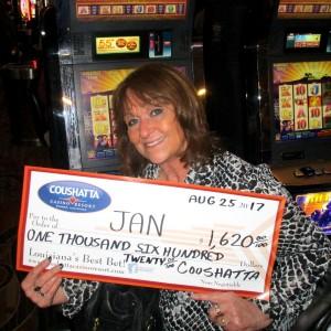 Jackpot cash coupons